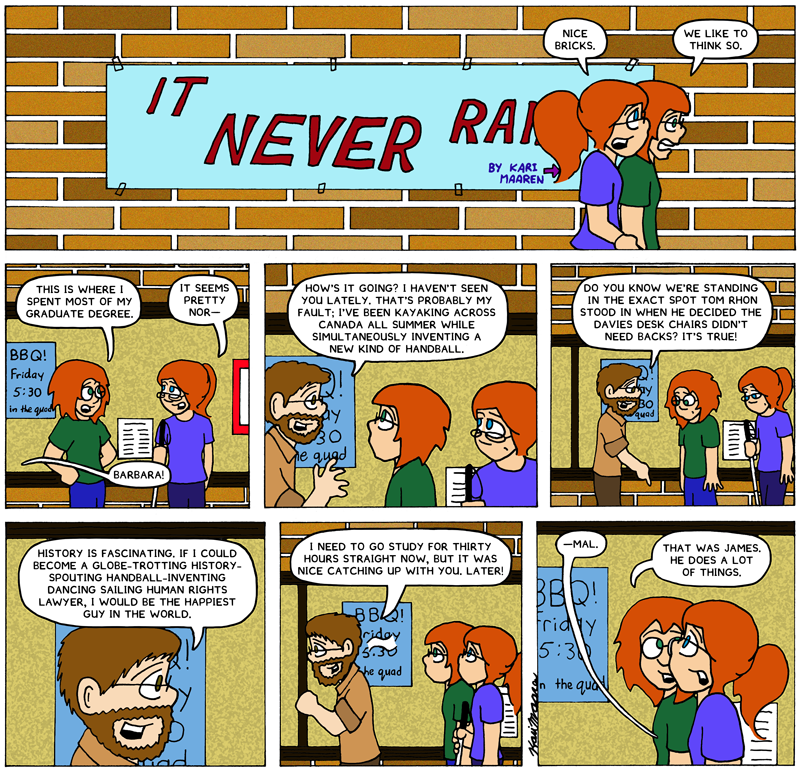 It Never Rains James Rendell
